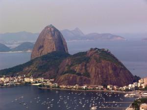 Rund um den 'Zuckerhut' messen sich aktuell die 32 besten Fußballnationen der Welt. Quelle: Wikipedia, Lizenz: Gemeinfrei