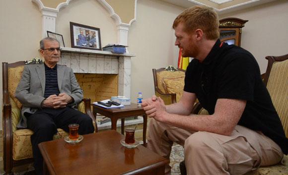 Enno Lenze im Gespräch mit Najmaldin Karim