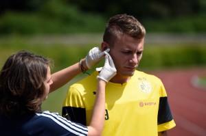 Ciro Immobile trainiert in Dortmund. Foto: BVB