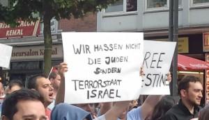 Versuch (!) ohne Antisemitismus gegen den Gazakrieg zu demonstrieren