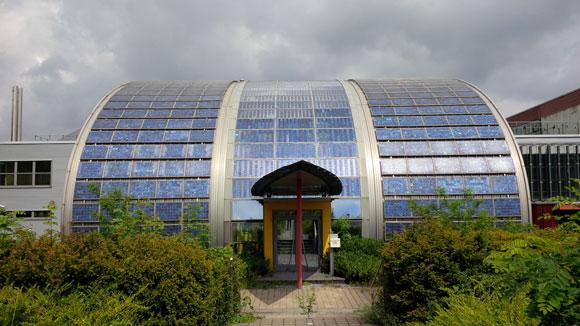 Geschlossene Solarzellenfabrik in Gelsenkirchen
