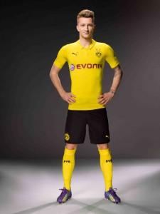 Marco Reus im neuen CL-Trikot. Foto: BVB