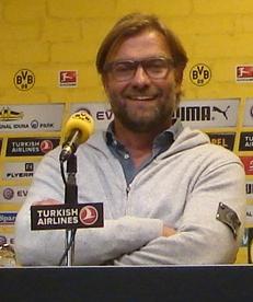 Der scheidende BVB-Trainer Jürgen Klopp. Foto: Robin Patzwaldt