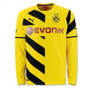 Das aktuelle Trikot der Dortmunder. Foto: BVB