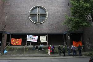 Besetzte St. Albertus Magnus Kirche