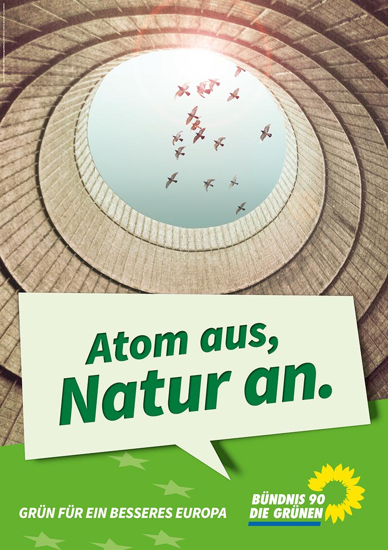 Was kaum ein Grüner ahnt: Atome kommen auch in der Natur vor! (Foto: gruene.de / getty images)