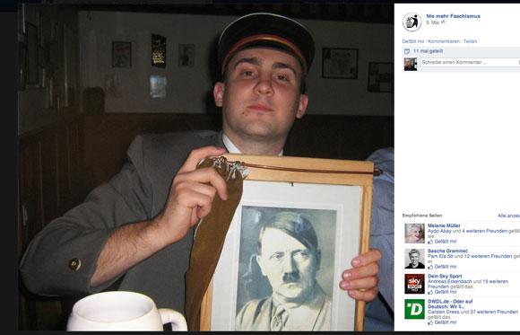 Gericht erlaubt Veröffentlichung von Hauer-Foto mit Hitler