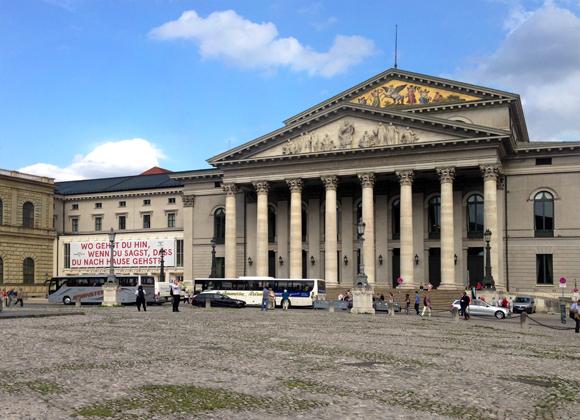 Bayrische Staatsoper und Residenztheater München, Foto: 2014, Ulrike Märkel