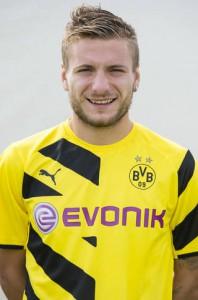 Rettete mit seinem späten Treffer zum 2:2 zumindest einen Punkt gegen Stuttgart: Ciro Immobile. Foto: BVB