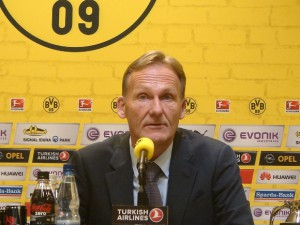 BVB-Boss Hans-Joachim Watzke. Foto: Robin Patzwaldt
