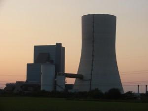 Das Kraftwerk 'Datteln 4' im September 2014. Foto: Robin Patzwaldt