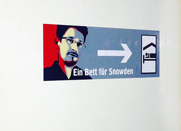 Edward Snowden Sticker