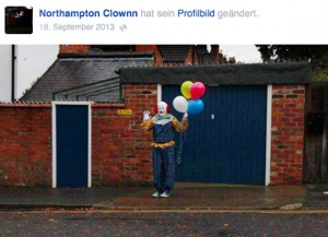 Facebook Northampton Clown