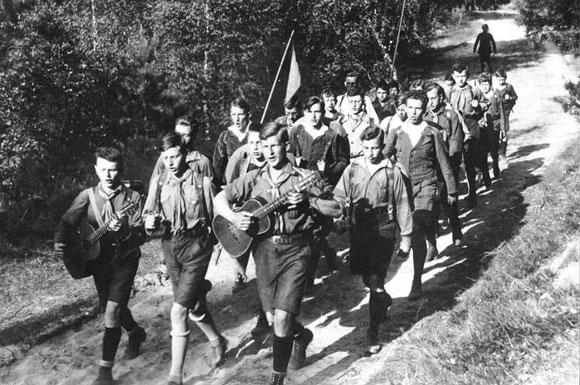 Die Green Guard der Grünen Jugend Foto: Bundesarchiv/Wandervogel Berlin
