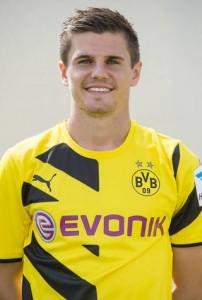Jonas Hoffmann noch im Dortmund-Trikot. Foto: BVB