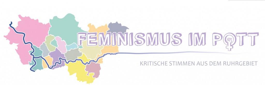 """Das Logo der Gruppe """"Feminismus im Pott"""""""
