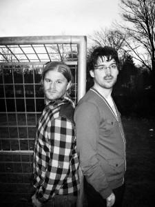 Die beiden Autoren von 'Sport - Das Buch'.