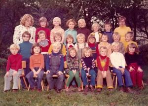 Der Autor dieser Zeilen im Kindergarten (1975). Foto: privat