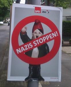 Nazis Stoppen Wahlplakat 2014 SPD Datteln (476x580)