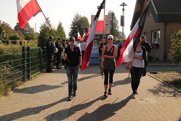Neonazis in Hamm: Gewalttätig nur wegen der Antifa?