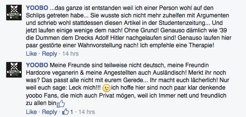 """Öffentliche Stellungnahme zu den Vorwürfen der """"akduell""""."""