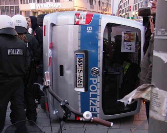 HoGeSa Demo, Foto: Copyright Felix Huesmann