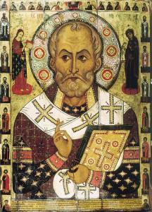 Nikolaus von Myra. Quelle: Wikipedia, Foto: Aleksa Petrov, Lizenz: gemeinfrei