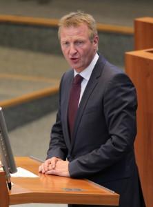 Innenminister Ralf Jäger; Foto: 2014, Bernd Schälte, © Landtag NRW