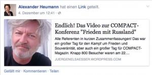 Elsässer-Fan Alexander Heuman (AfD),