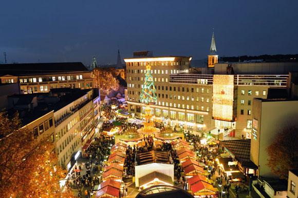 Weihnachtsmarkt Bochum: Foto: Bochum Marketing GmbH Lizenz: Copyright