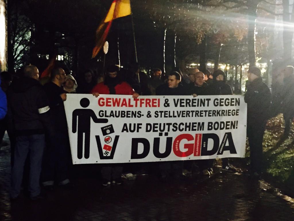 PEGIDA-Bewegung in Düsseldorf (DüGiDa), Foto: Ulrike Märkel