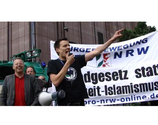 Daniel Krause in Köln; Screenshot: Youtube By Nogocologne