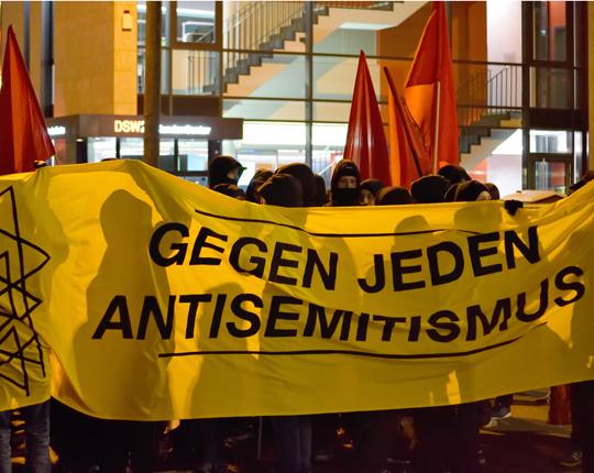 Demonstration gegen Antisemitismus in Dortmund, Foto: Ulrike Märkel