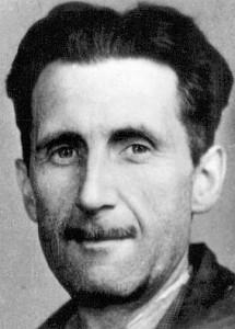Sagte viel Schlaueres zur Meinungsfreiheit als Lutz Bachmann: George Orwell (Quelle: Wikipedia)