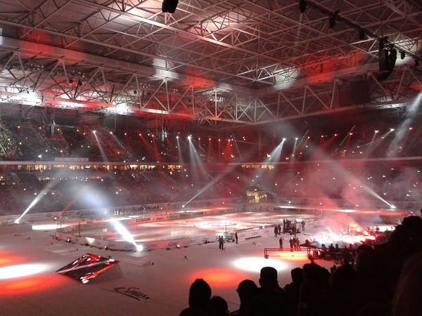 Das DEL-Wintergame 2015 in Düsseldorf. Foto(s): Sylvia Heimes)