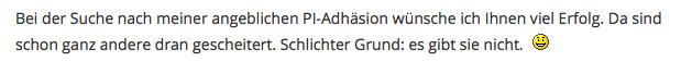 Berghaus bittet - Bartoschek bedient!