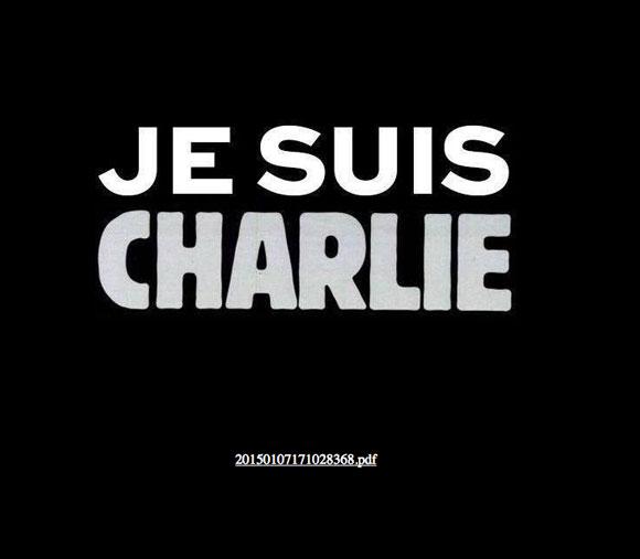 Homepage des Satiremagazins Charlie Hebdo