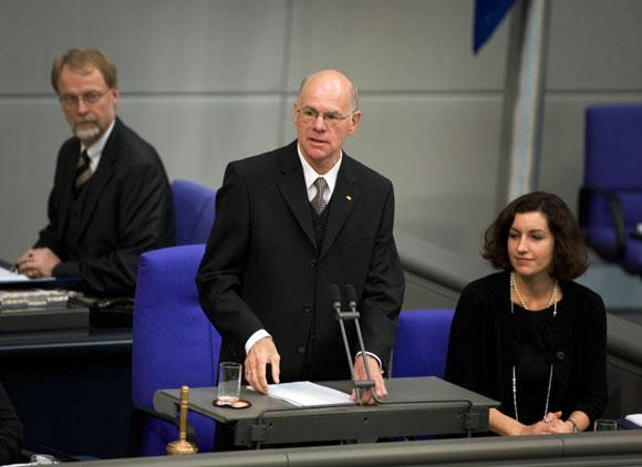Norbert Lammert Foto: Homepage Lizenz: Copyright