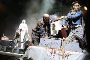 Keine Panik: Punk ist heute nur noch Theater. Foto: Birgit Hupfeld