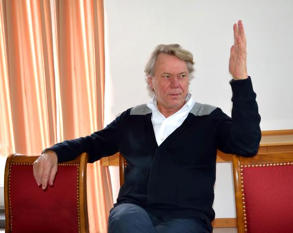 Ruhrtriennale Intendant Johan Simons, Foto: Ulrike Märkel
