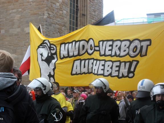 Demo gegen NWDO-Verbot in Dortmund, Foto: Ulrike Märkel