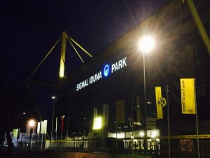 Das Stadion in Dortmund Foto: Ulrike Märkel
