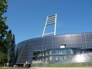 Das Stadion von Werder Bremen. Foto: Robin Patzwaldt