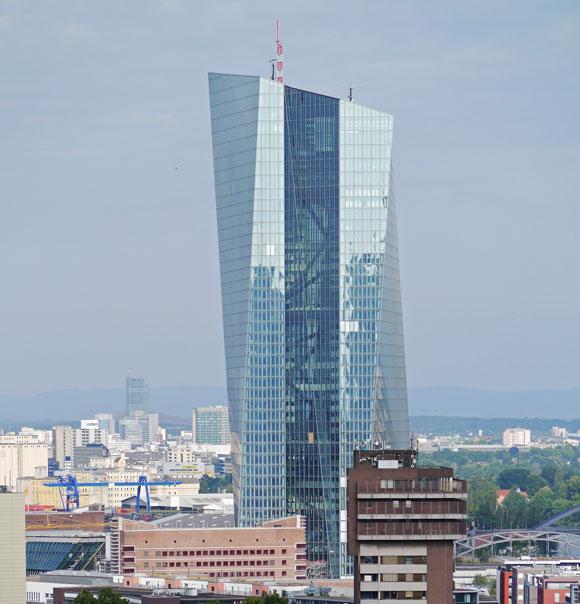 EZB in Frankfurt   Foto: Simsalabimbam (Ausschnitt) Lizenz: CC BY-SA 3.0