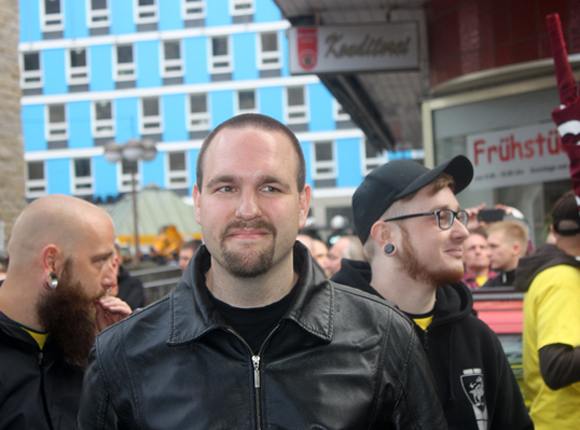 Sascha Krolzig (Die Rechte), Foto: Ulrike Märkel 2015