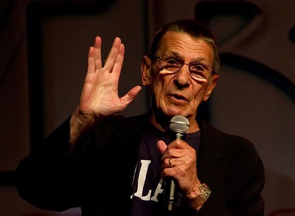 Leonard Nimoy (Spock) (Ausschnitt) Foto: Beth Madison Lizenz: CC2.0