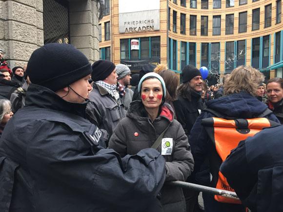 Protest gegen Salafisten in Wuppertal