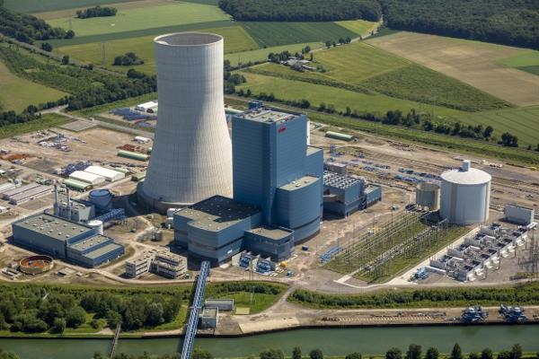 Das neue Kraftwerk in Datteln. Foto: E.On
