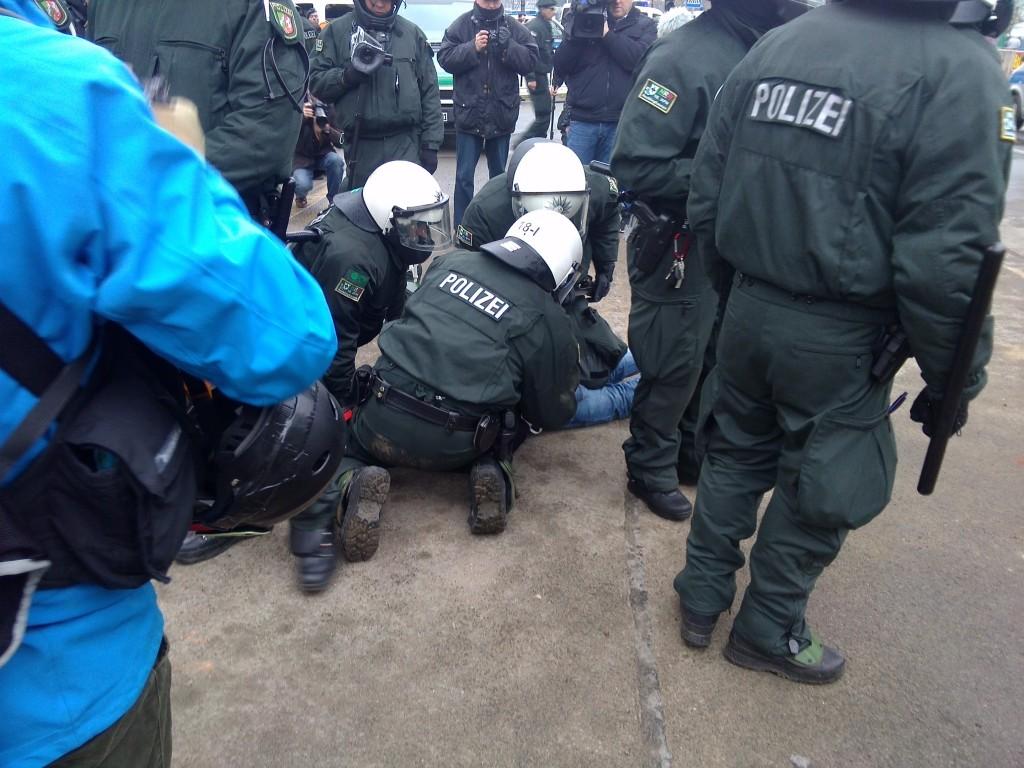 Symbolbild: Polizeieinsatz in Wuppertal am 14.3.2015
