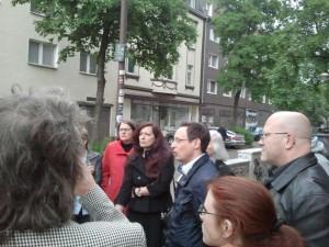 Unterlegener OB-Kandidat Rubinstein in Duisburg-Hochfeld